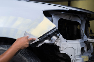 Ford Aluminum Auto Body Repair Santa Rosa